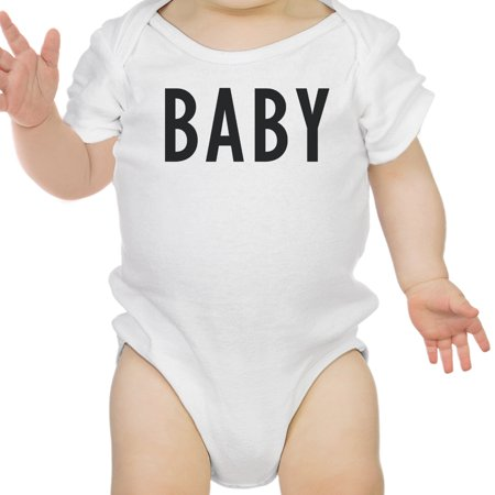 Daddy Mama Baby Matching Clothes Funny Family White T-Shirt Gift Ideas - El Wire Clothing Ideas