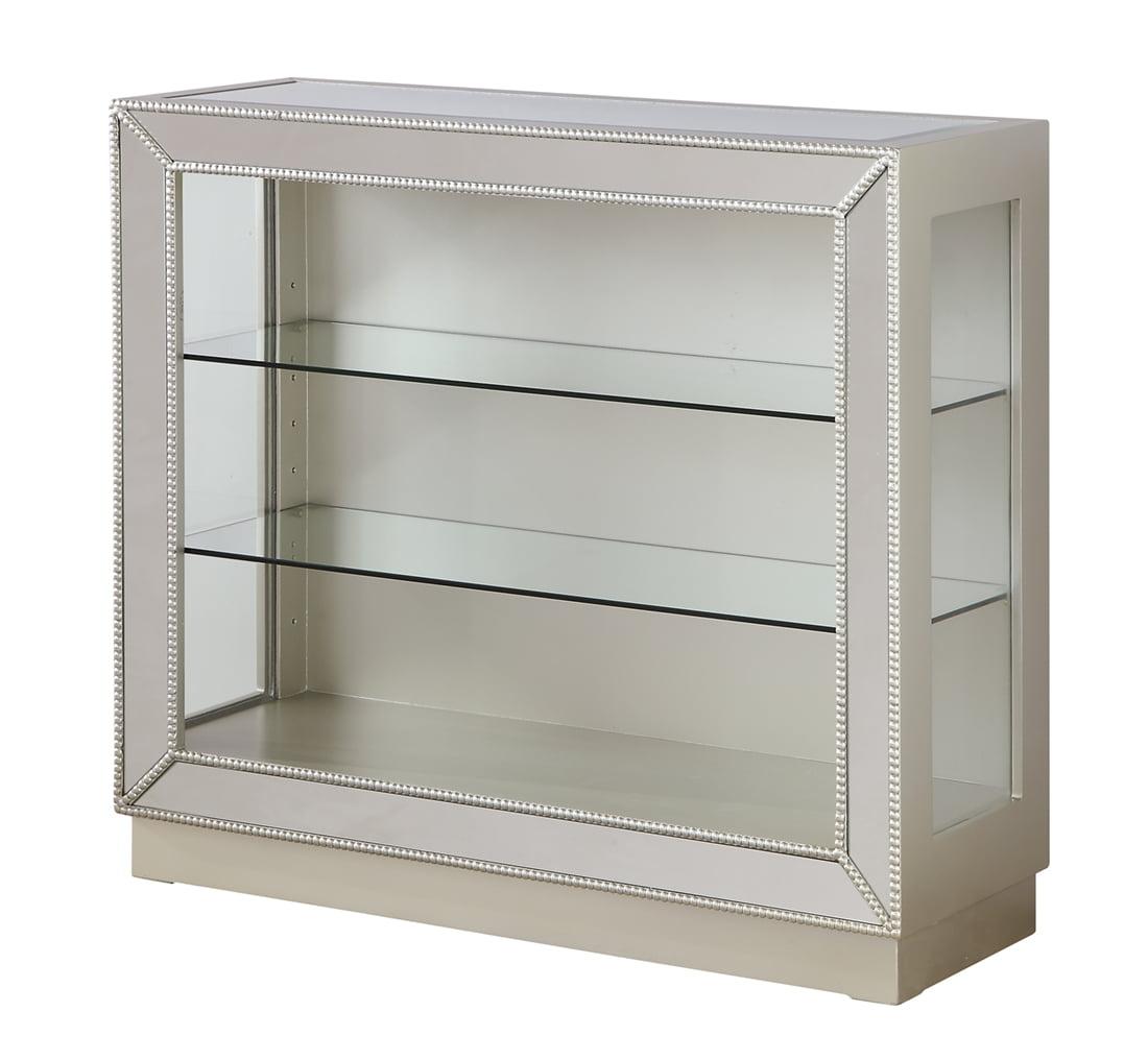 Coast To Coast 13721 Mirrored Curio Cabinet by Coast To Coast