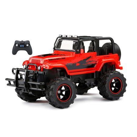 New Bright 1:15 RC Chargers Jeep Pickup