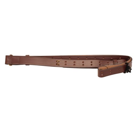 Padded 2 Point Sling (Padded Tanned Leather Rifle Sling by Allen)