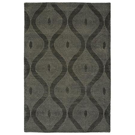 Kaleen Textura Rug In Charcoal - (8 Foot x 10
