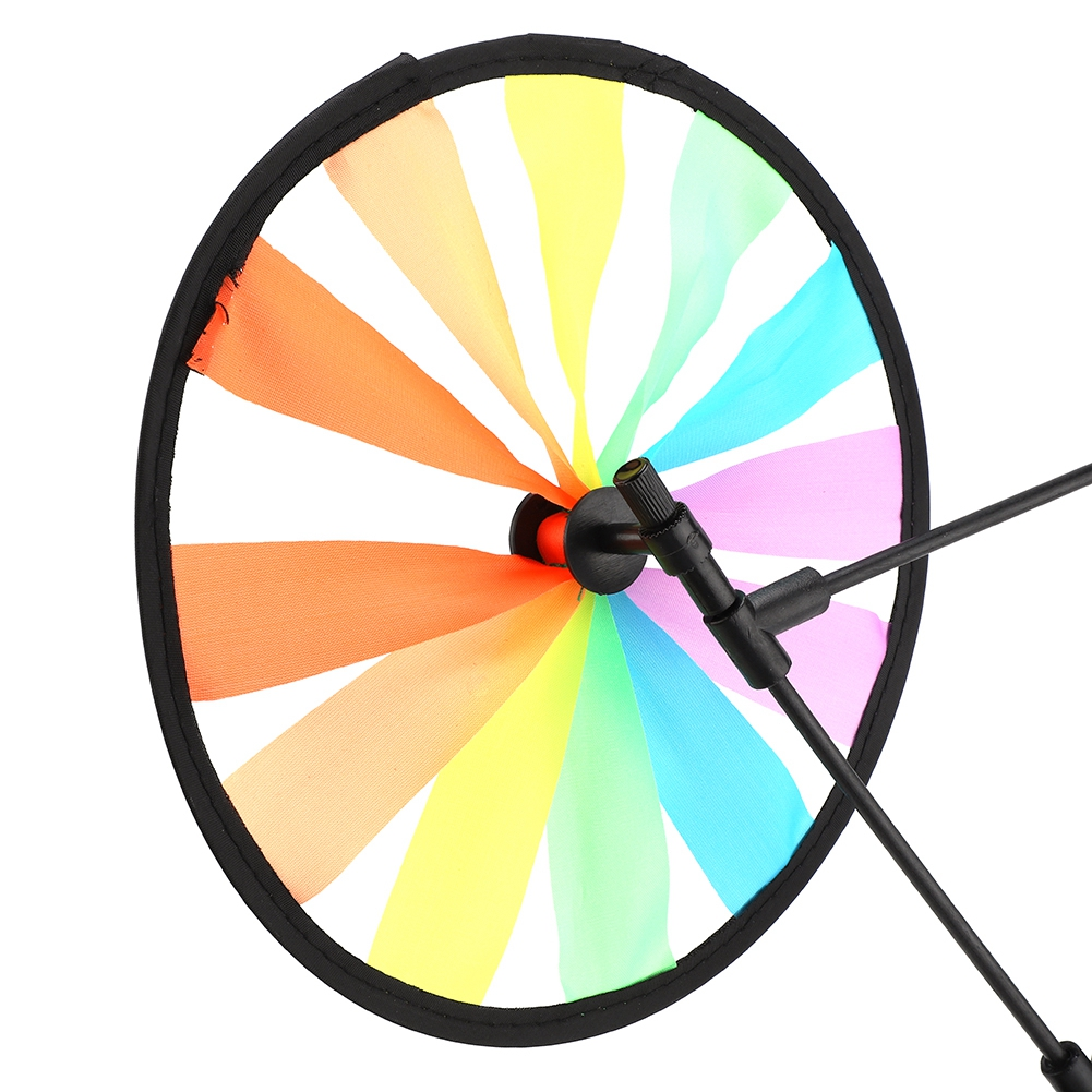 Ejoyous Multicolor Animal Owl on Bike Windmill Pinwheel Whirligig Kids Toy Garden Party... by
