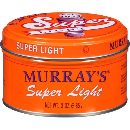 Murray's Pomade & Hair Dressing, Super Light 3 oz