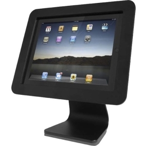 All in One- iPad Rotating and Swiveling Stand Black AIOB