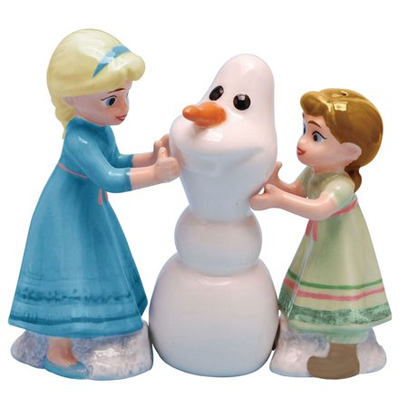 Do You Want to Build a Snowman Disney Salt and Pepper Shakers Set Westland - Snowman Salt And Pepper Shakers