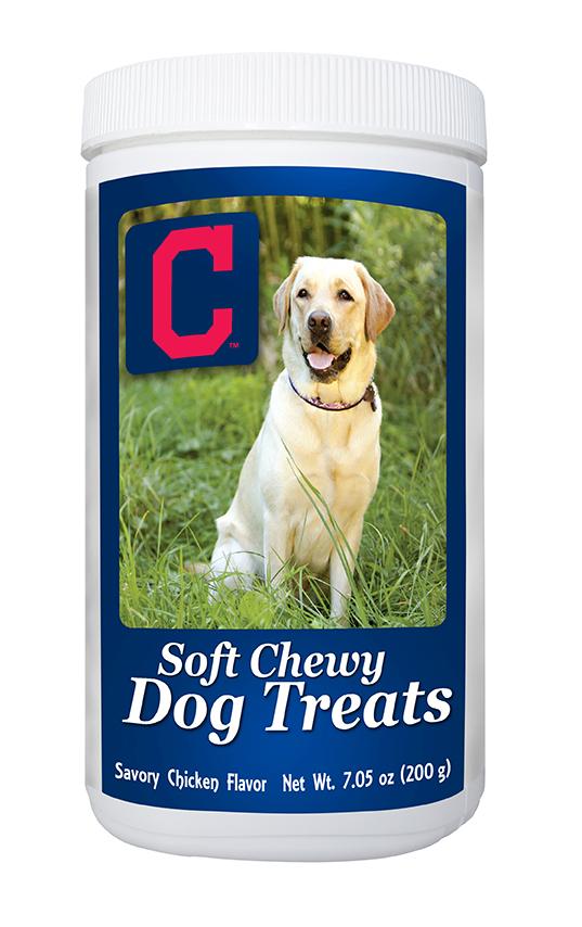 MLB Cleveland Indians Soft Chewy Dog Treats, 7oz by GameWear, Inc