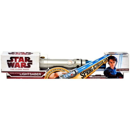 Star Wars Force Action Lightsabers Anakin Skywalker Electronic Lightsaber](Anakin's Blue Lightsaber)