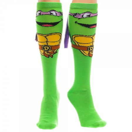 1d1ace8ae7e Teenage Mutant Ninja Turtles - Knee High Socks - Don w Mask kh0idctmt -  Walmart.com