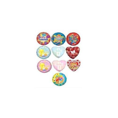Bulk Buys 200 Pc 18 Maylar Spanish Asst Balloons 10 Styles 20 Pc Each - Case of 200