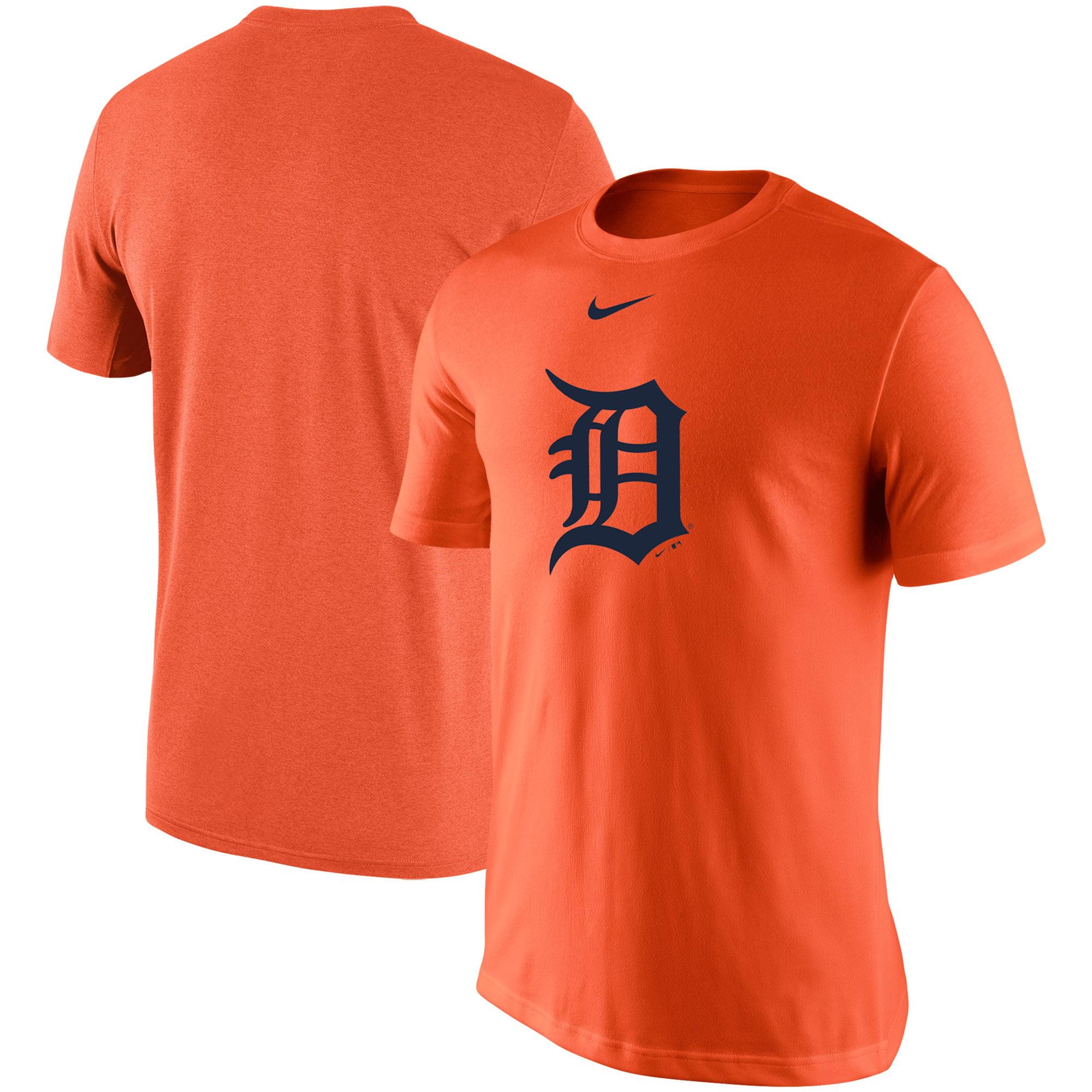 Detroit Tigers Nike Legend Batting Practice Primary Logo Performance T-Shirt - Orange