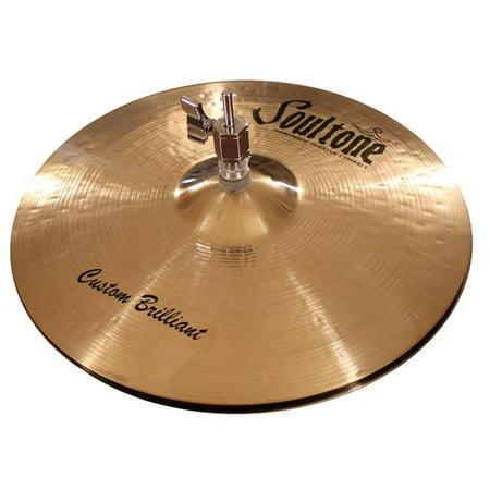 Soultone Cymbals CBR-HHTB14 14 in. Brilliant Hi Hat Bottom