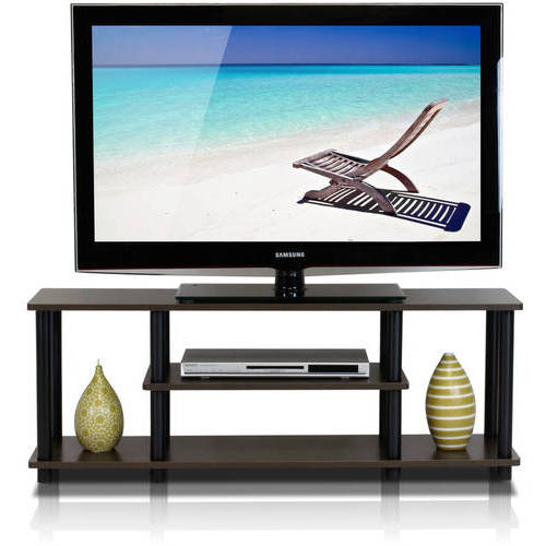 "Furinno Turn-N-Tube 3-Tier TV Stand for up to 55"" TV, Multiple Colors"