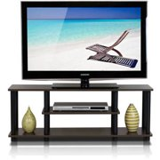 """Furinno Turn-N-Tube 3-Tier TV Stand for up to 55"""" TV, Multiple Colors"""