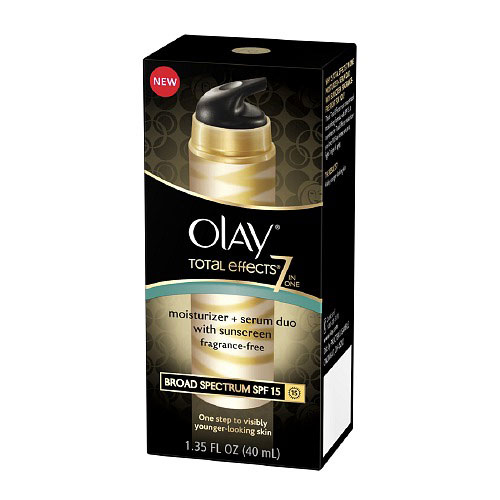 Olay Total Effects 7 In 1 Sunscreen Broad Spectrum Spf 15 - 1.35 Oz, 2 Pack