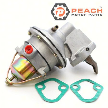Peach Motor Parts PM-8M0073435  PM-8M0073435 Fuel Pump, Mechanical; Replaces Mercruiser®: 8M0073435, 861676A 1, 861676A1, 861676T09, 42725A 3, 42725A3, Mercury Marine®: 8M0073435, OMC®: 509407, (Best Fuel Pump For Marines)