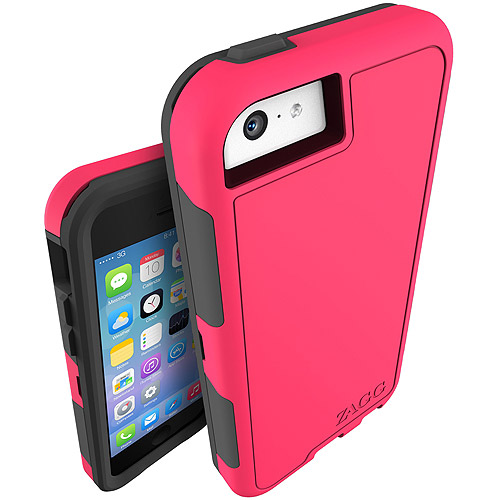 InvisibleShield Arsenal Case for iPhone 5C with iS Extreme - Hot Pink (ZCARSPNK107)