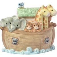 Precious Moments Overflowing With Love Noah's Ark Porcelain Night Light Nursery Décor 173433