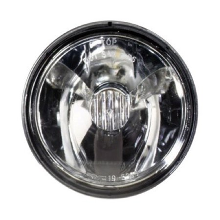 Compatible 1997 - 1999 Pontiac Transmission Sport Fog Light Lamp Assembly Replacement Housing / Lens / Cover - Left (Driver) Side 25735538 GM2592119 Replacement For Pontiac Trans Sport