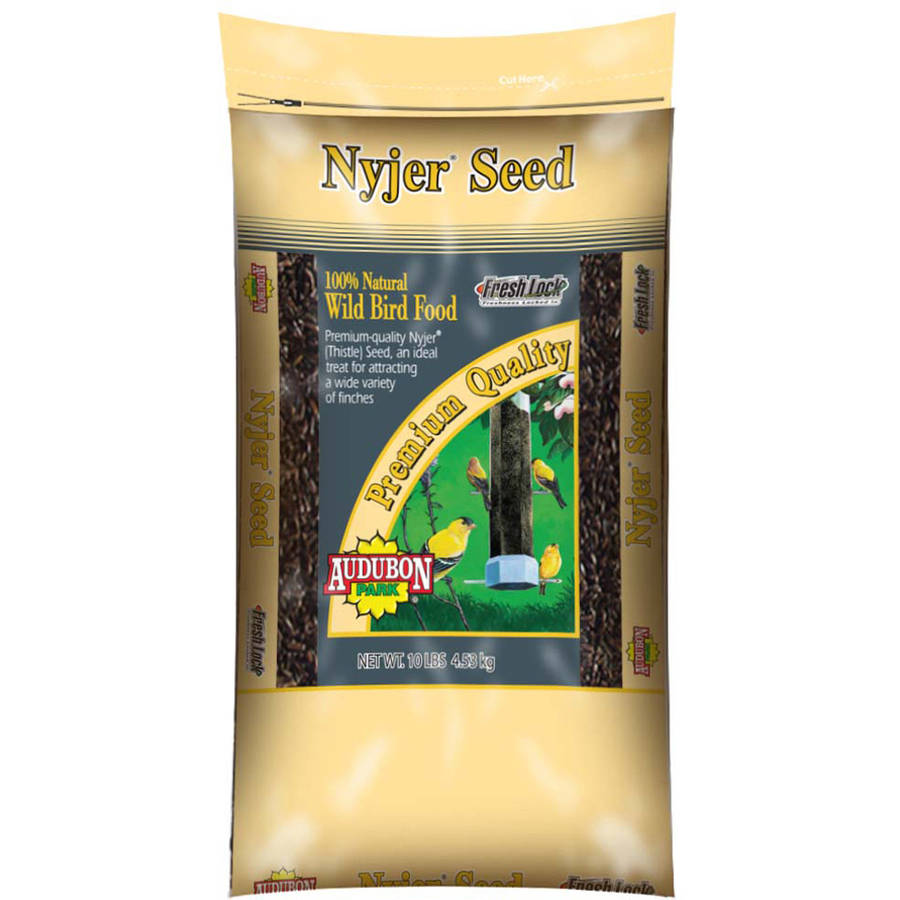 Click here to buy Audubon Park 12236 10 lb Nyjer Seed Wild Bird Food by Global Harvest/woodinville.
