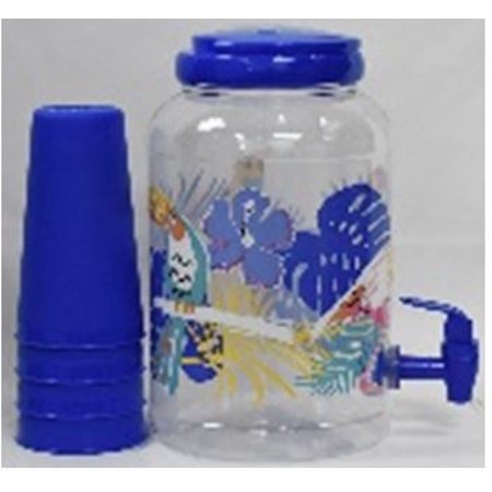 Mainstays Ms 5pc Suntea W/tumbler-flamingo