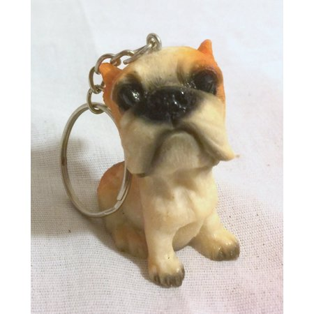 New Dog Puppy Keychain Key Ring Holder, By