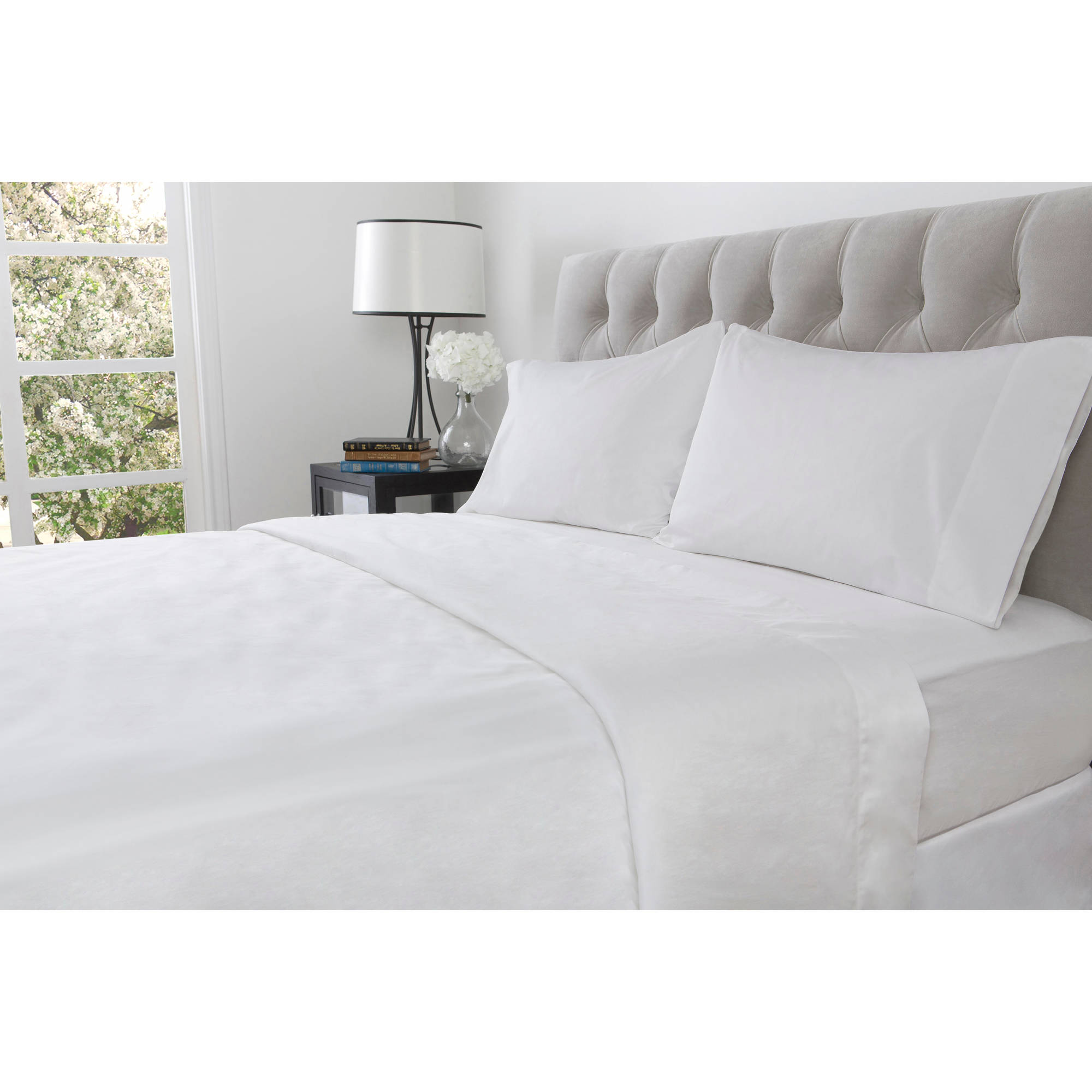 hotel style 600 thread count opti fit sheet set image 2 of 5 - Thread Count Sheets