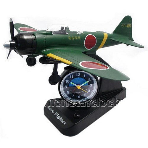 Airplane Alarm Clock _Novelty Clock by Triple Store
