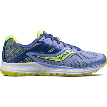 Women's Saucony Ride 10 Running Shoe 10 Cushion Running Shoe