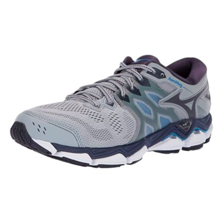 Mizuno Men's Wave Horizon 3 Running Shoe, Quarry-Graphite, 10.5 D US