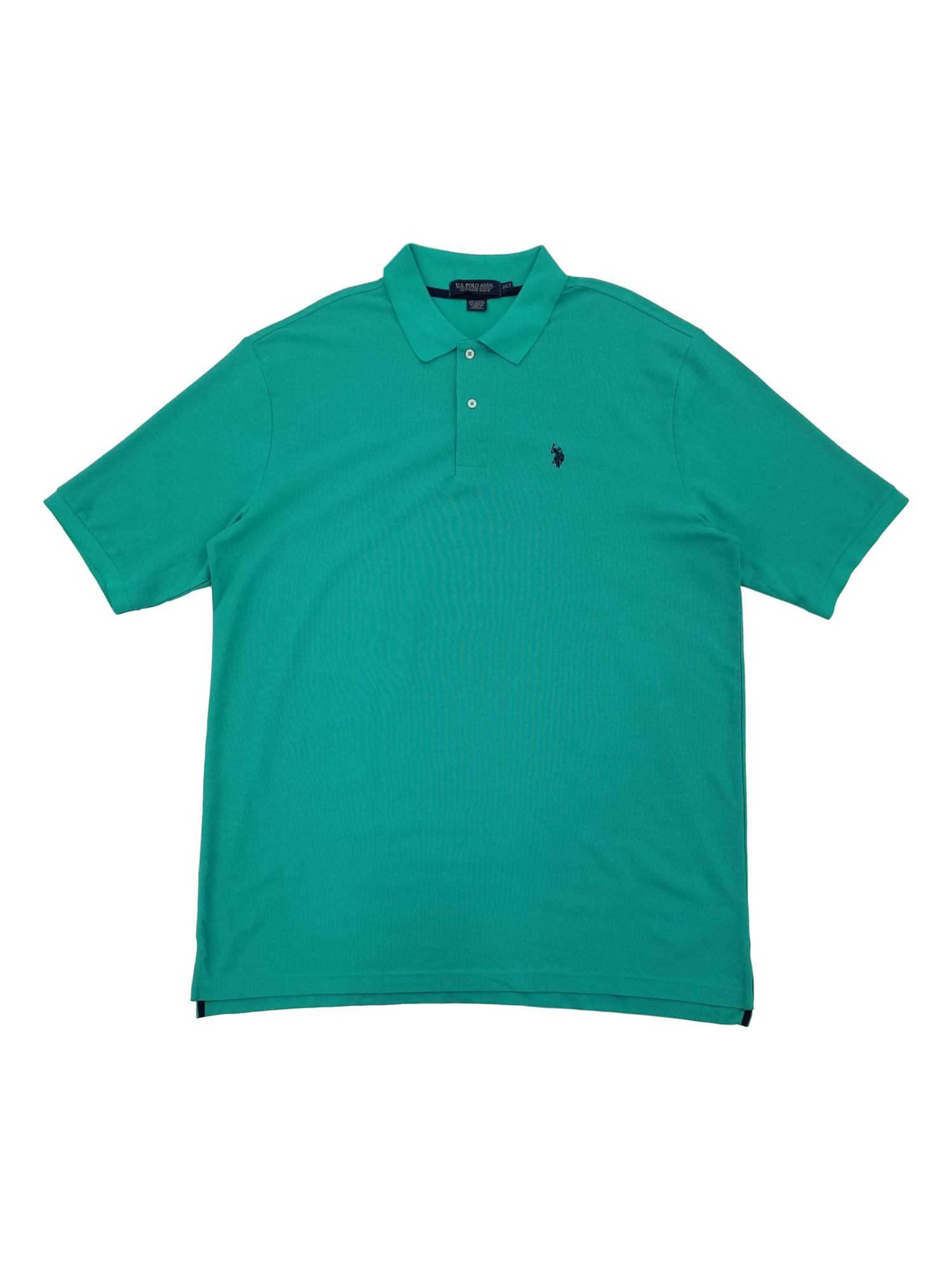 U.S. Polo Assn. Mens Big & Tall Green Performance Golf Polo T-Shirt - Walmart.com