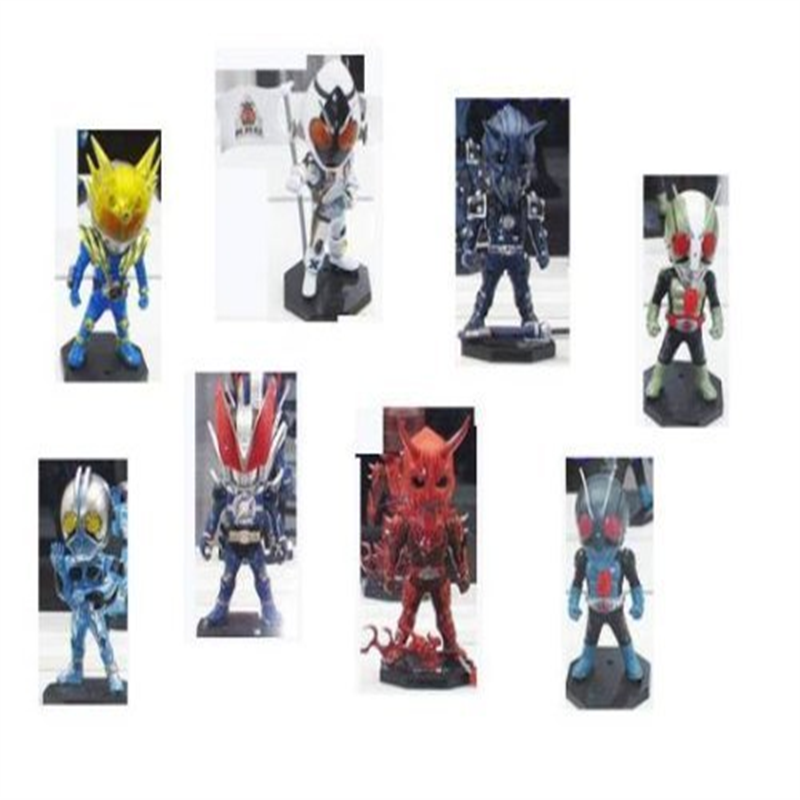 Kamen Rider World Collectable Figure Vol11 8 seed set (japan import)