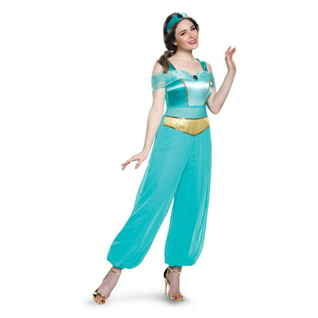 Disney Princess Jasmine Deluxe Adult Costume - Princess Jasmine Costume Adults