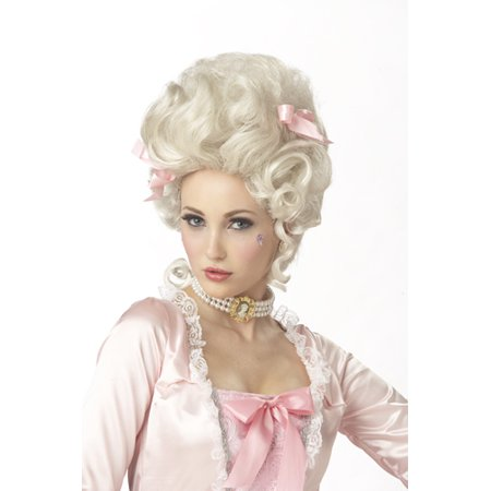 Light Blonde Marie Antoinette Wig for Halloween Costume