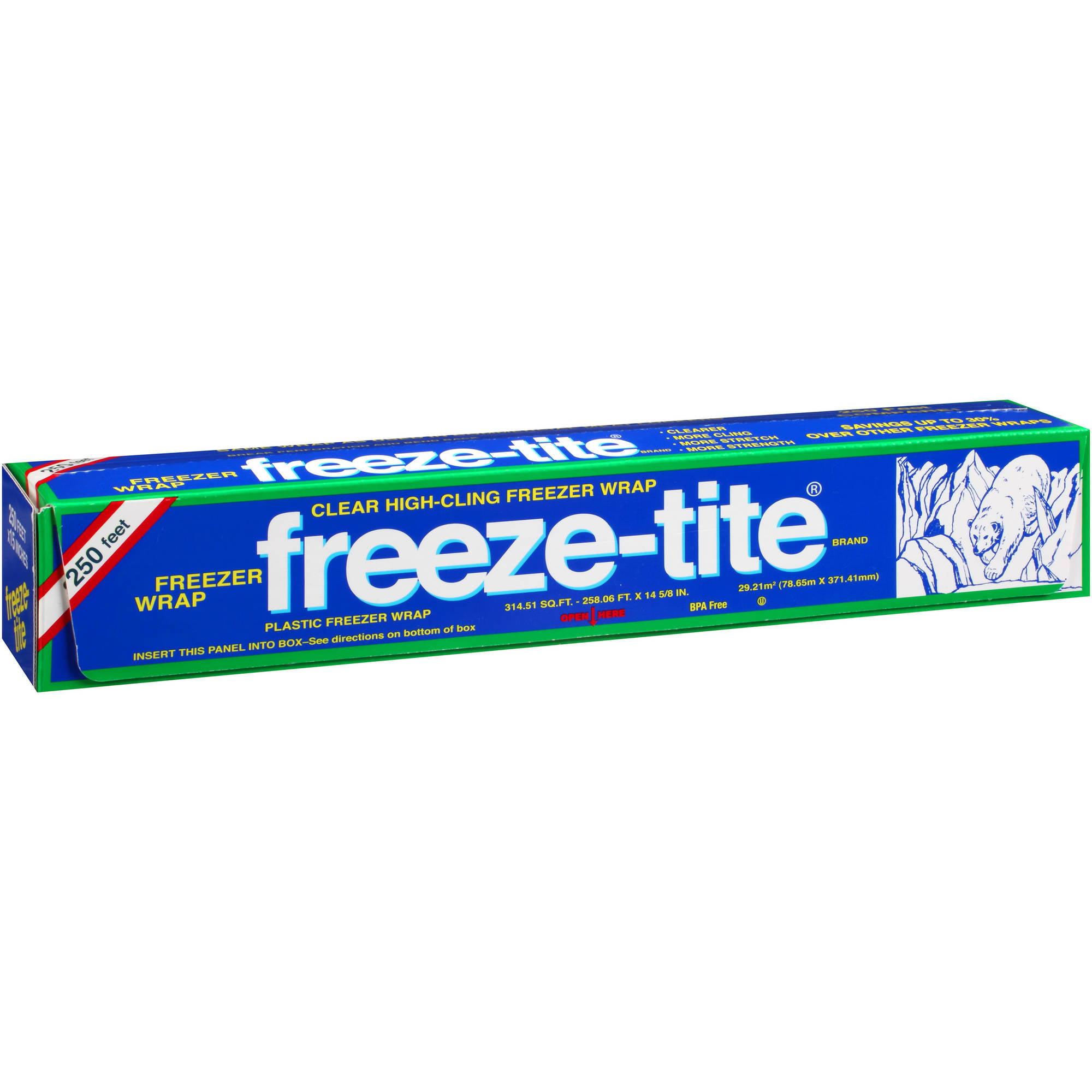 freeze-tite Plastic Freezer Wrap, 314.51 sq ft