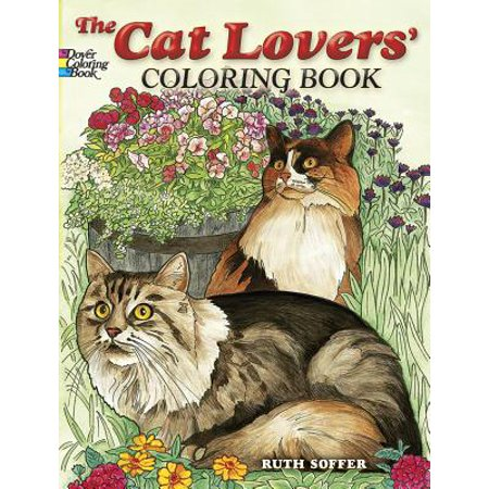 The Cat Lovers' Coloring Book - Halloween Coloring Pages Cats