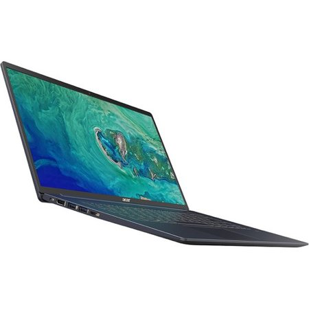 "Acer Swift 5 SF515-51T-73TY 15.6"" Touchscreen Notebook - 1920 x 1080 - Core i7 i7-8565U - 16 GB RAM - 512 GB SSD - Pure Silver - Windows 10 Home 64-bit - Intel UHD Graphics 620 - In-plane Switchi"
