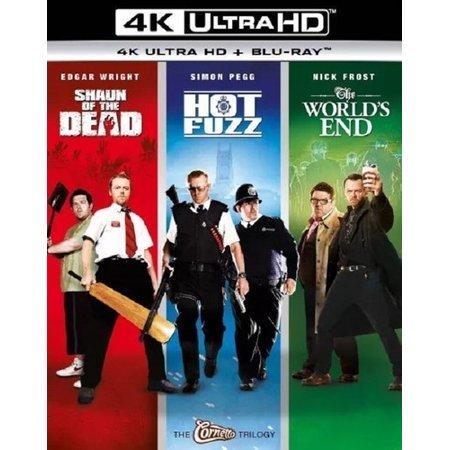 Shaun of the Dead / Hot Fuzz / The World's End Trilogy (4K Ultra HD + Blu-ray + Digital