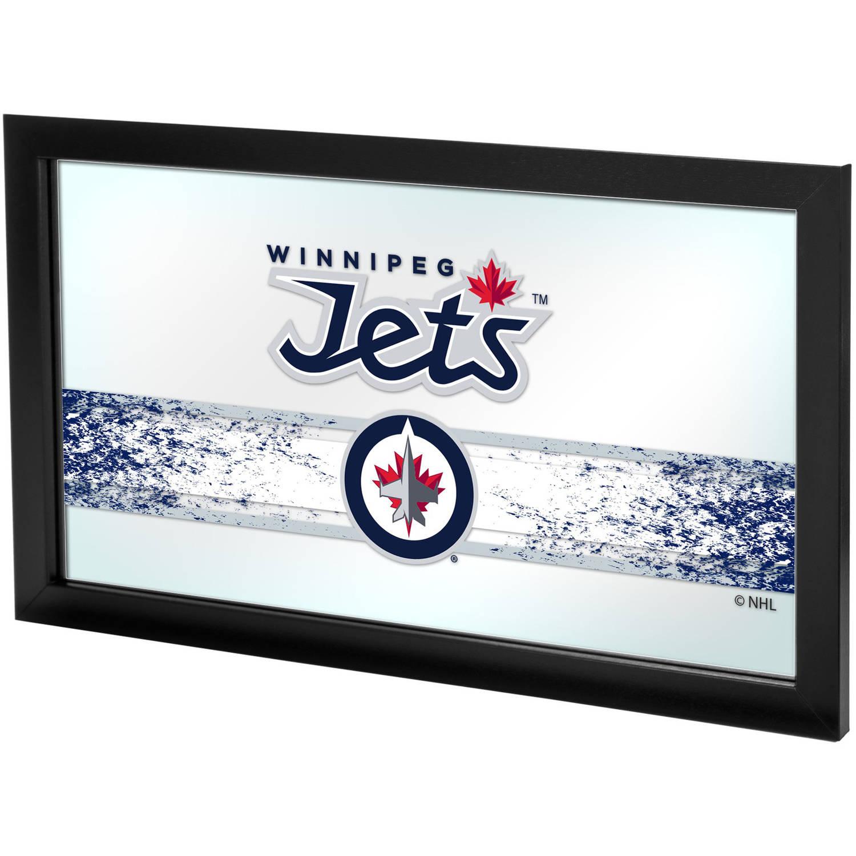 NHL Framed Logo Mirror, Winnipeg Jets