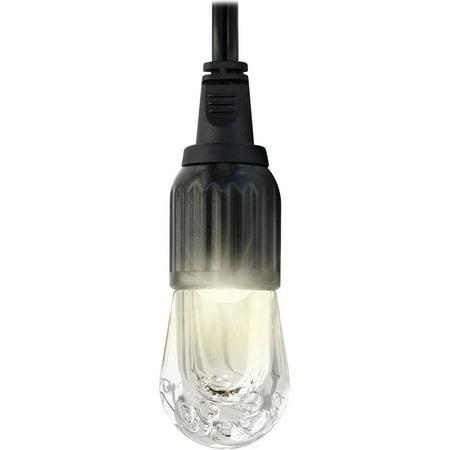 Enbrighten LED Cafe String Lights, 9 Bulbs 18ft, 33307 - Walmart.com