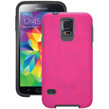 Otterbox Symmetry Series For Samsung Galaxy S5 Cheetah Pink