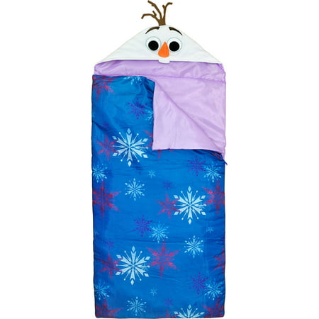Kids Sleeping Bags (Disney Frozen Hooded Sleeping Bag)