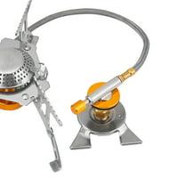 Fugacal Outdoor Mini Stove Burner Converter Long Cylinder Tank Gas Adapter , Gas Tank Converter, Stove Burner Converter