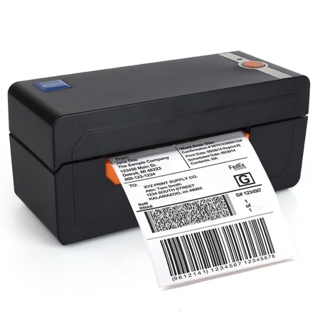 Label Printer, High Speed 150mm/s  USB Direct Thermal Label Printer Maker Machine, 4x6