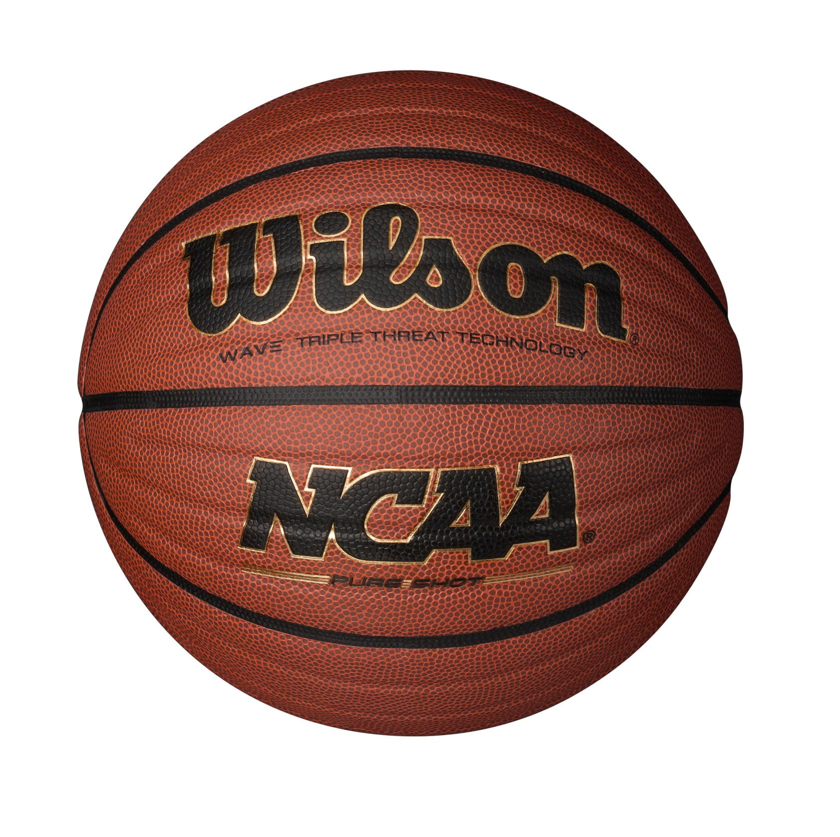 "Wilson NCAA Wave Basketball, Official Size (29.5"") by Wilson Sporting Goods"