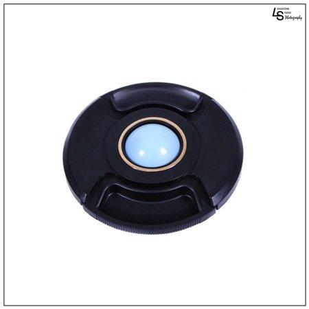 Custom Center Caps - 67mm Center Pinch White Balance Calibration Lens Cap Custom Filter Front Protection Cover for SLR DSLR Cameras by Loadstone Studio WMLS0540