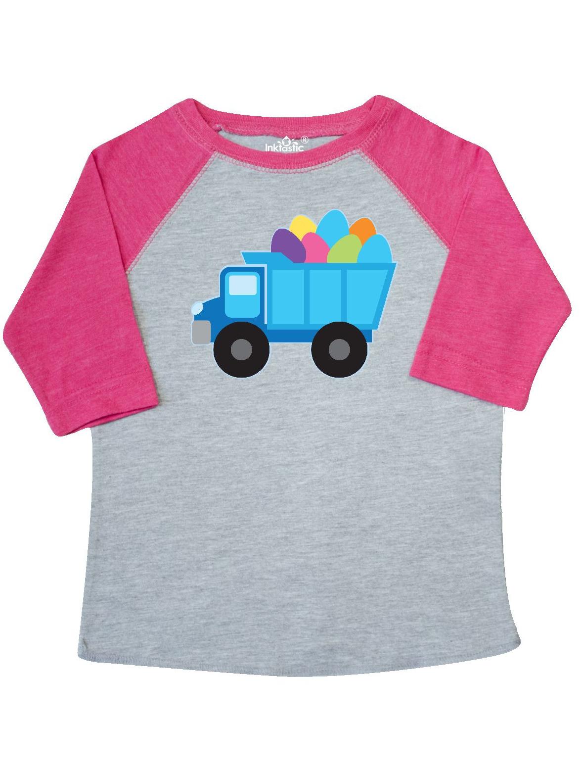 Easter Egg Truck Boys Toddler T-Shirt