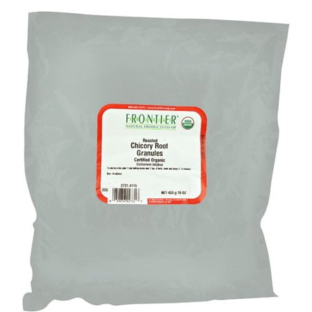 Frontier Organic Roasted Chicory Root Granules, 16 Oz.
