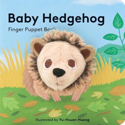 Baby Hedgehog Finger Puppet Book (Board Book) - Hedgehog Information For Kids