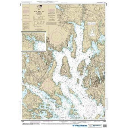 NOAA Chart 13316 Blue Hill Bay;Blue Hill Harbor: 43.35