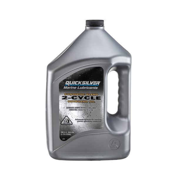 Quicksilver Premium Plus TC-W3 2-Stroke Synthetic Blend Marine Oil